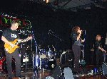 Breathless entertain the crowd.  Children In Need - Westland Sports & Social Complex, 16-Nov-2001