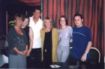 Dan from Eastenders at the Gardens Party Night